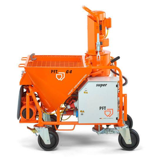 PFT Alçı makinesi