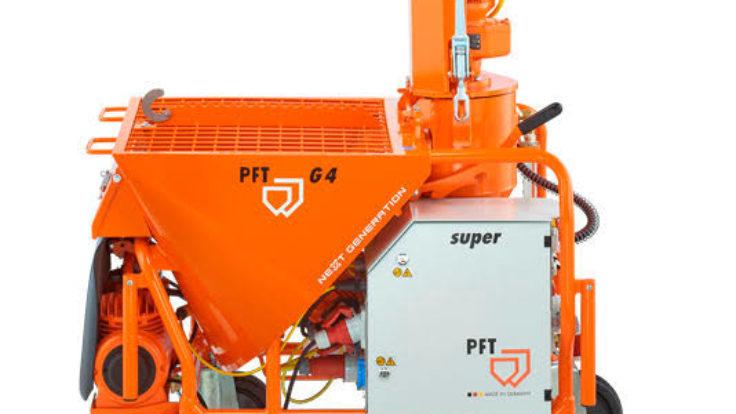 PFT G4 XL Alçı Makinası